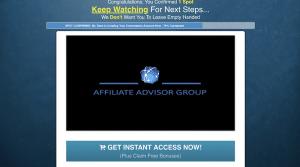 Affiliate Advisor Group Website