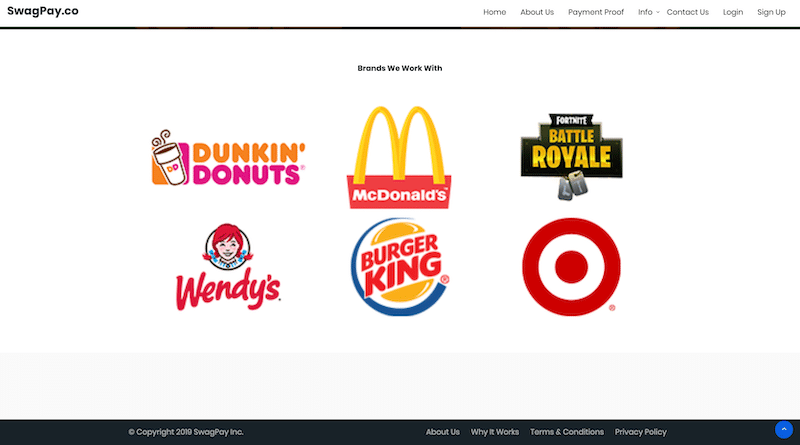 Big Name Brand Partners Lie