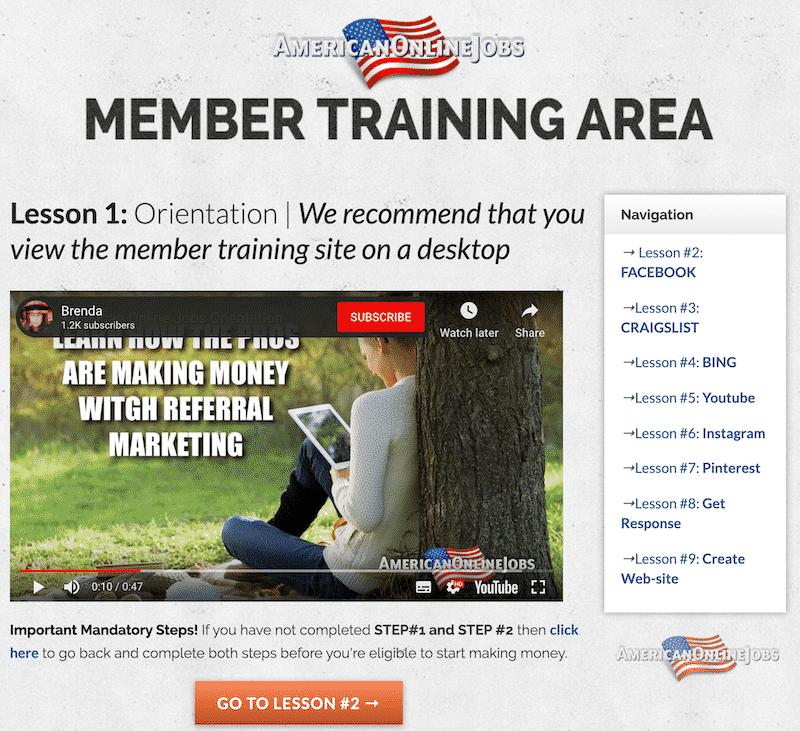 Member Area Training With Brenda