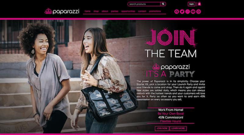 Paparazzi Accessories Website