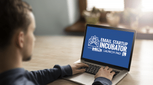 Email Startup Incubator and Inbox Blueprint Review Banner