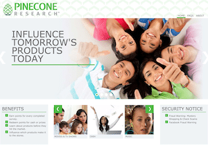 Pinecone Research Website