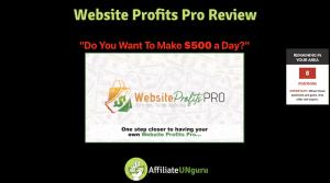 Website Profits Pro Review Feature Banner