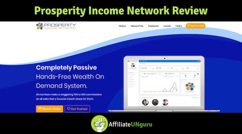 Feature Banner for Prosperity Income Network Review
