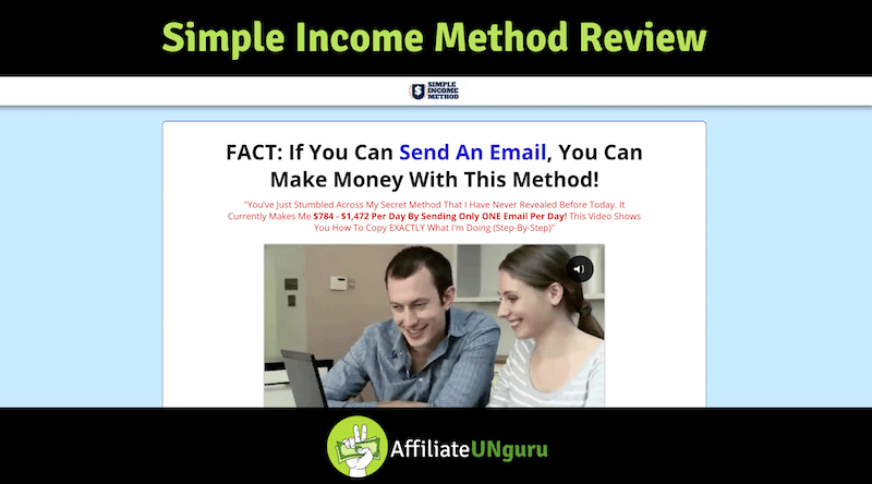 Simple Income Method Review Banner