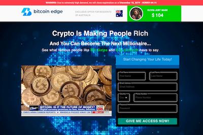 Bitcoin Edge Website