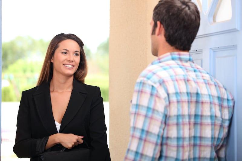 Make Money as a Door to Door Salesperson