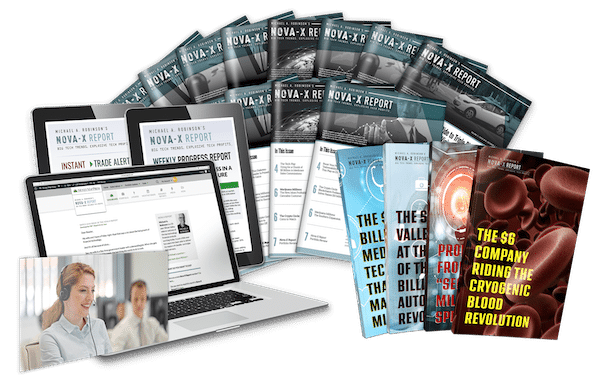 Nova-X Report Subscription Including Cryogenic Blood report