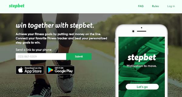 Stepbet App Website