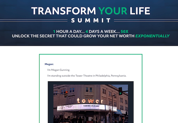 Transform Your Life Summit