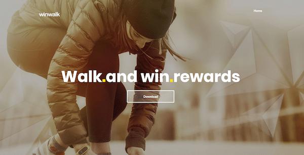 WinWalk App Website