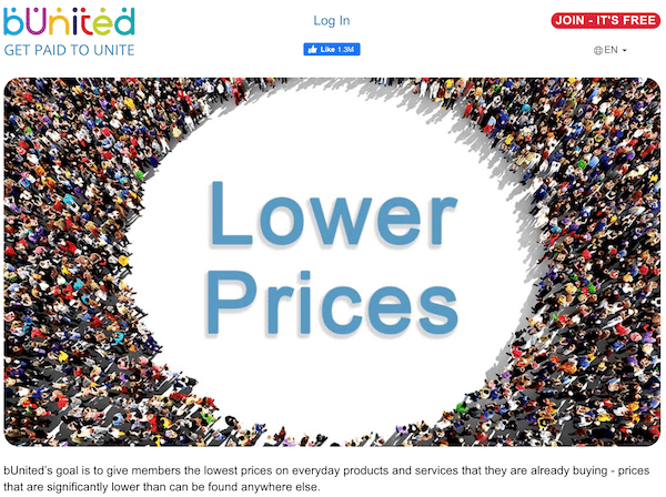 Lower prices for bUnited members