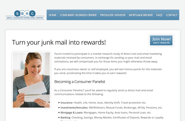 SBK Center Website