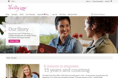 ThirtyOne Consultant Website