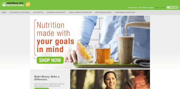 Herbalife website