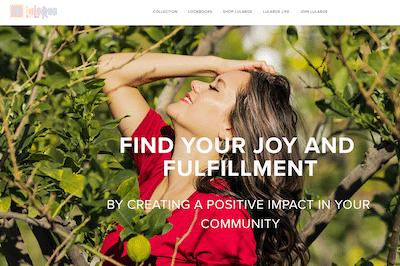 LuLaRoe website homepage