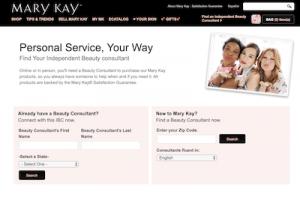 Mary Kay consultant website