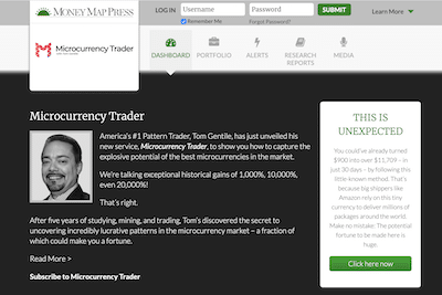 Microcurrency Trader review banner