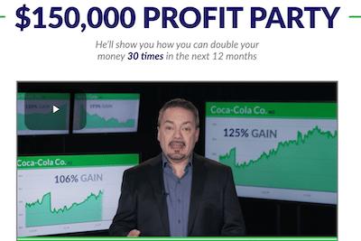 Tom Gentile's $150,000 Profit Party Feature Banner