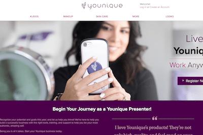 Younique consultant website