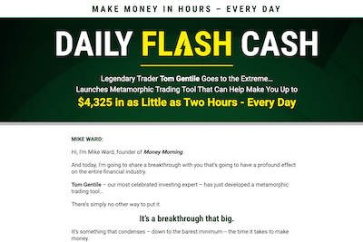 Daily Flash Cash review banner