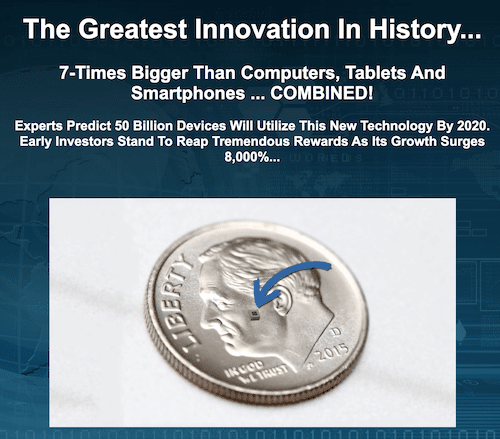 Greatest Innovation in History presentation by Paul Mampilly