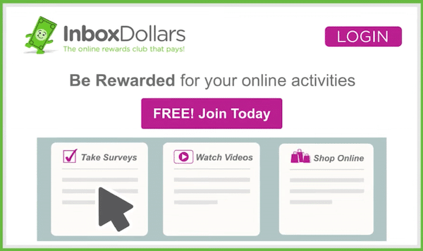 Examples of ways to make money with InboxDollars