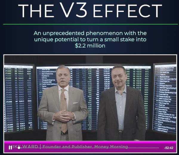 Mike Ward and Tom Gentile explaining how V3 Effect works