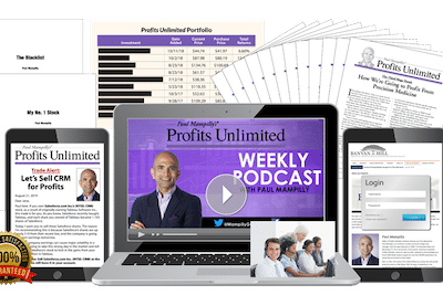 Paul Mampilly's Profits Unlimited on the Banyan Hill website