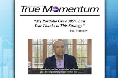 Paul Mampilly's True Momentum strategy presentation