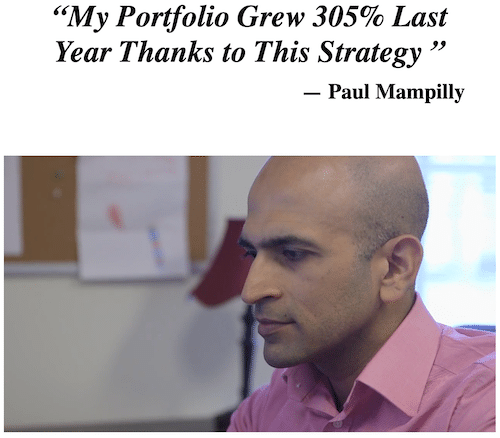 Paul Mampilly growing his portfolio thanks to True Momentum