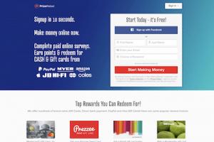 PrizeRebel website