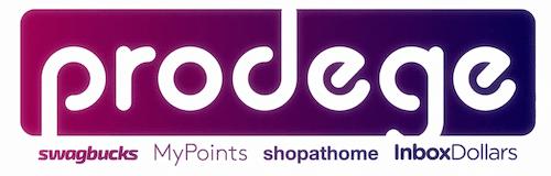 Prodege logo showing reward sites it owns