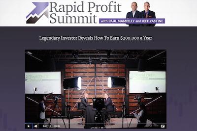 Rapid Profit Summit presentation