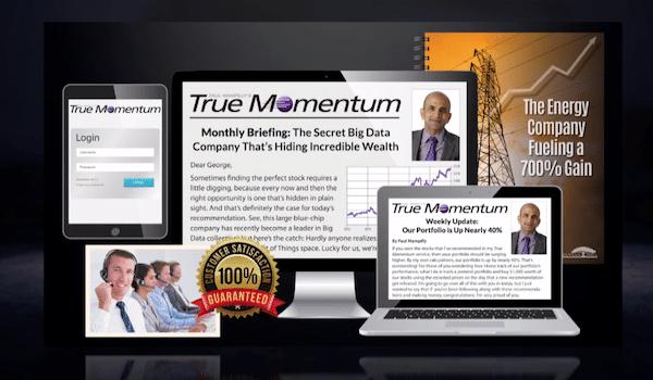 True Momentum subscription with bonus report