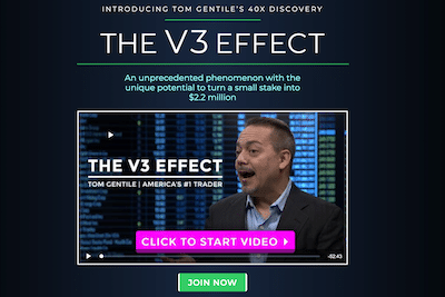 V3 Effect video presentation featuring Tom Gentile