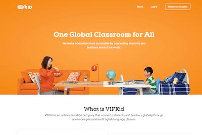 VIPKid online learning platform