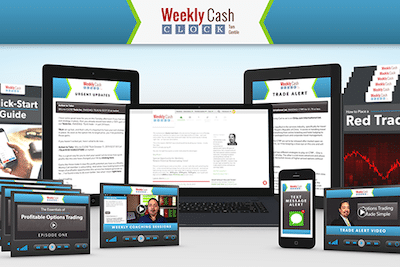 Weekly Cash Clock newsletter subscription