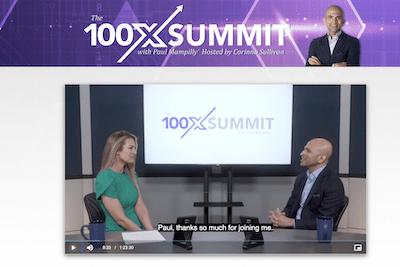 100x Summit presentation