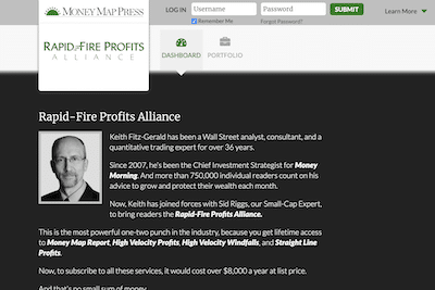 Rapid-fire Profits Alliance by Keith Fitz-Gerald