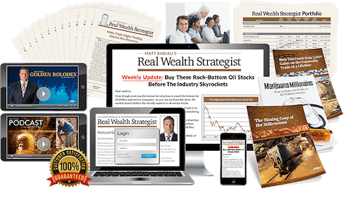 Real Wealth Strategist subscription contents
