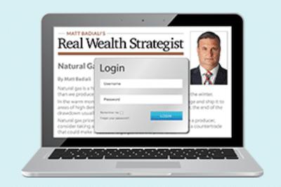 Real Wealth Strategist website
