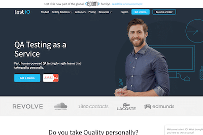 Test.io user testing jobs website review