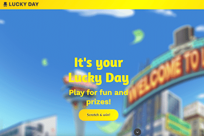 Lucky Day App review banner