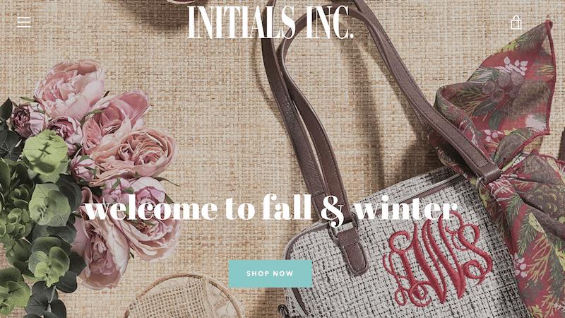 Initials Inc. website