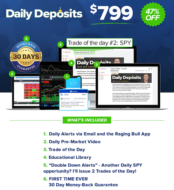 Overview of the Daily Deposits membership package