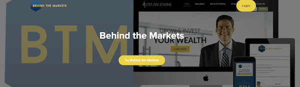 Behind The Markets service
